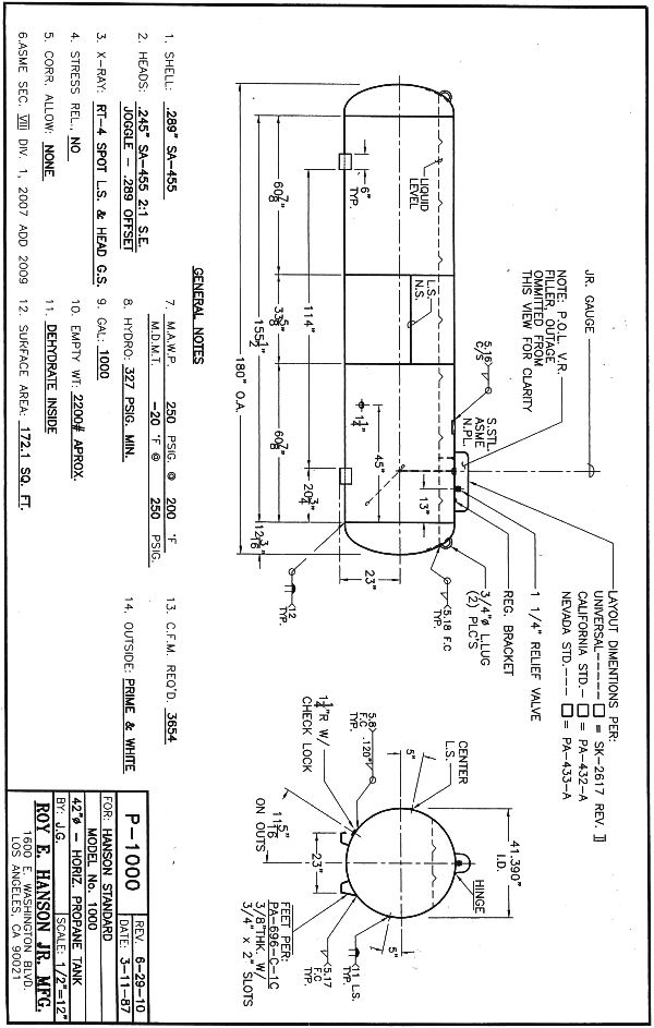 250 gal propane tank dimensions submited images